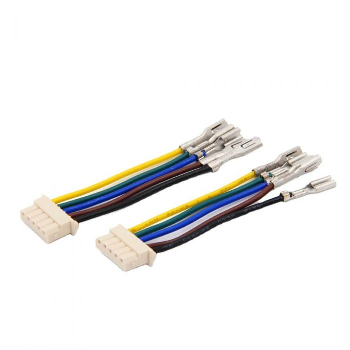 5 Pin Connector to 2.8x0.8 Faston Terminals Wire Assembly