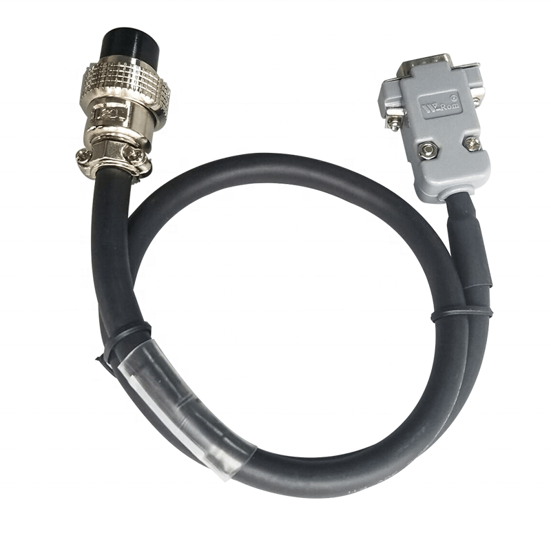 Aviation Head BNC Connector to DBH DB15 Male Head Servo Cable Assembly
