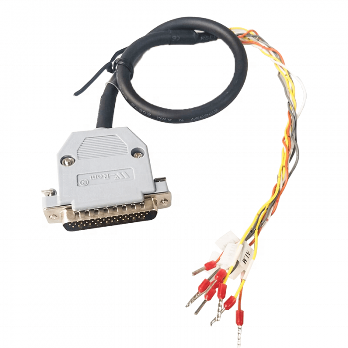 DBH DB 44 Pin to Tube Type Terminal 20276 Servo Cable Assembly