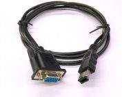 Firewire IEEE 1394 Male 6 Pin to DB9P D-SUB 9 Pin Female Servo Encoder Cable 5 ft