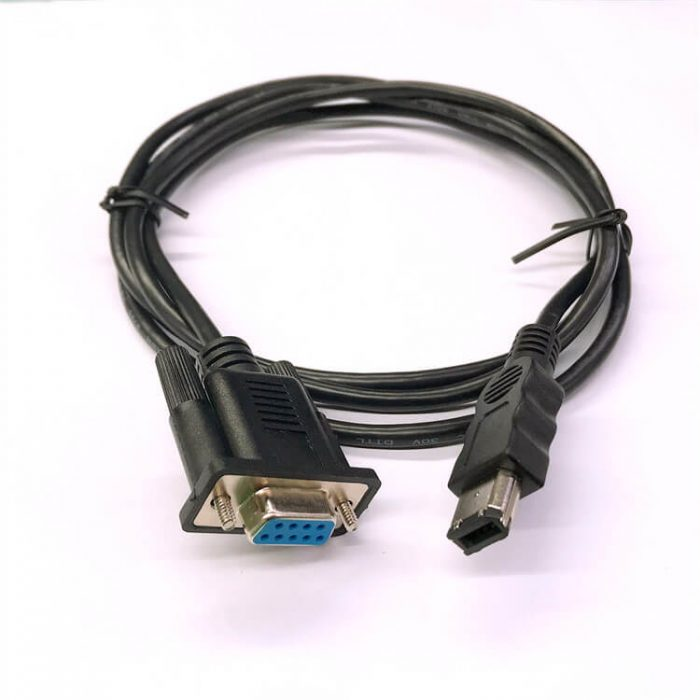 IEEE 1394 Firewire 6P Male to DB 9P VGA encoder Cable Assembly
