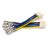 Plastic 5 Pin Connector Wire Harness