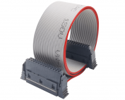 0.635mm Flat Ribbon Electrical Cable with Hart Flex IDC Female Connector
