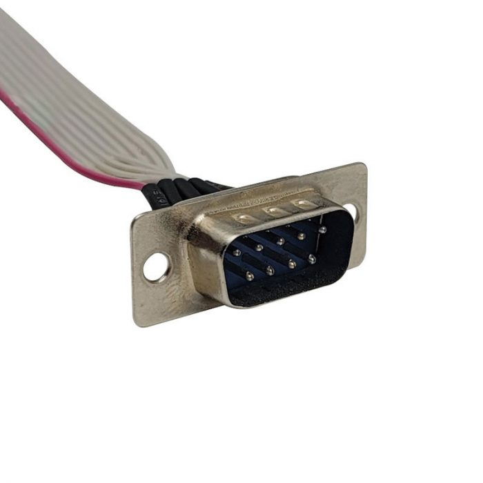DSUB Terminal IDC Female Connector Flat Cable Assembly