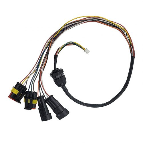Electric Car Stereo Wiring Harness