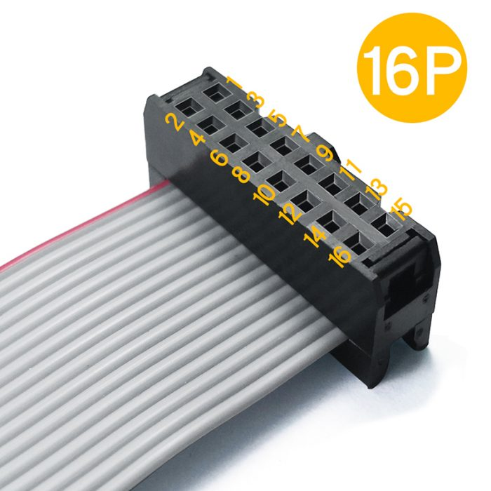 IDC 2.54mm Connector Flat Cable Assembly