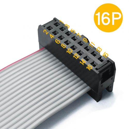 IDC Connector 2.54mm Pitch 2651 Flat Ribbon Cable Assembly
