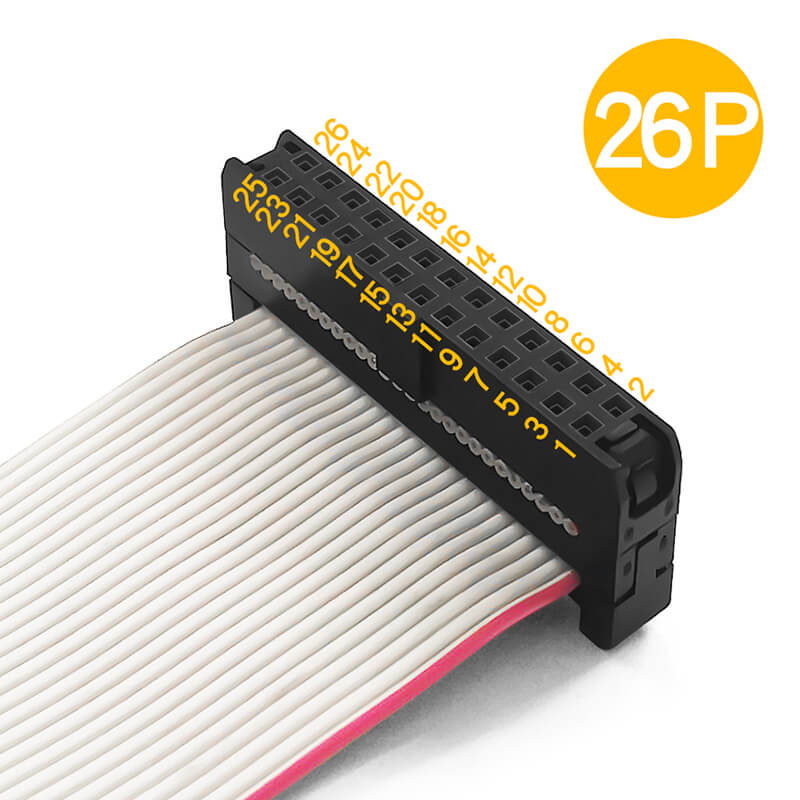 Pitch 2.0mm IDC Connector Flat Ribbon Cable Assembly