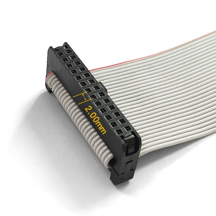 Pitch 2mm IDC Connector Flat Ribbon Cable Assembly
