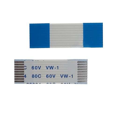 Pitch1.0mm FFC Cable Flexible Flat Ribbon Cable AWM 20624 80c60v